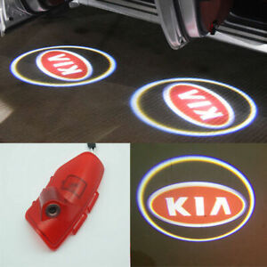 2X Led Door Cree Light Shadow Projector FOR KIA OPTIMA K5 Courtesy Logo Emblem