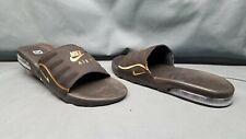 Nike Men's Air Max Camden Slides Sandals Black Gold Size 11 DISPLAY MODEL!