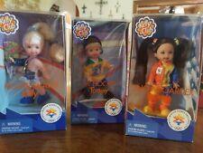 Kelly Club *Olympic Winter Games Salt Lake 2002 *Lot of 3 Dolls Nrfb