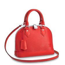 Louis Vuitton Alma BB Epi Leather Coquelicot