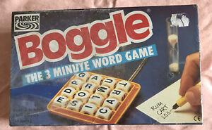 Vintage Parker Boggle,1980/90's.BNIB,Never Been Opened