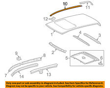 TOYOTA OEM 07-15 Tundra Roof-Drip Molding Left 755520C060 2 DOOR TRUCKS ONLY