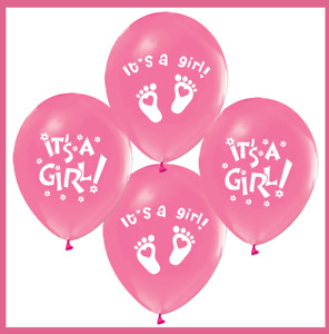 Its a Girl Luftballons Babyshower Party , Babyballons , Babyparty , Pullerparty