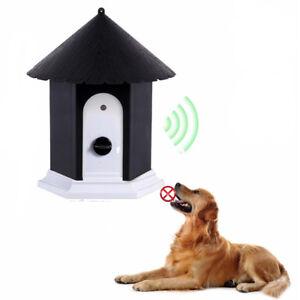 Silenciador Perro Ultrasónico Anti Ladrido Estación Exterior Control Dispositivo
