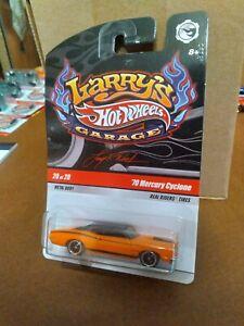 Hot Wheels Larry's Garage 70 Mercury Cyclone Orange 2009 #20 Of 20