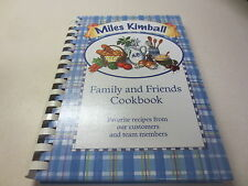 Miles Kimball Family and Friends Cookbook Favorite Recipes plastic comb binding