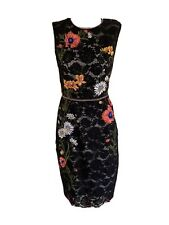 KAREN MILLEN 12 Lace Dress Floral