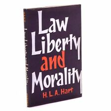 Law, Liberty and Morality, H.L.A. Hart 1966 Near Fine