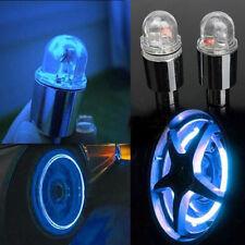 2pcs Bike Car Motorcycle Wheel Tire Tyre Valve Cap Spoke Neon LED  Light Lamp