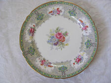 "Shelley ""Georgian"" Green #13360 w/ Gold Rim - Salad Plate(s) - Up to 6 Avail"