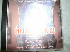 Randy Miller - Hellraiser III (Hell on Earth,SCORE/Original Soundtrack)