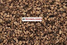 Woodland Scenics B86 Coarse Brown Ballast Colourfast New 383cm3 Pk 1st Clas Post