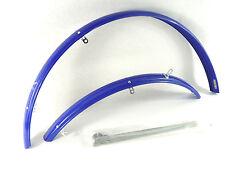 "Bluemels Fenders SKS ""Popular"" Blue w Stays Vintage Bicycle Mudguards NOS"