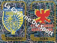 N°712 SCUDETTO ITALIA SS.GIUGLIANO - FC.IGEA STICKER PANINI CALCIATORI 2004