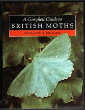 ENTOMOLOGIA - A COMPLETE GUIDE TO BRITISH MOTHS - MARGARET BROOKS - ILUSTRADO