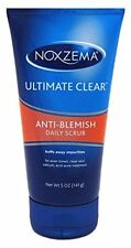 2 Pack Noxzema Ultimate Clear Anti-Blemish Daily Scrub 5 Oz Each