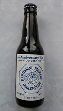 HAWTHORNE BREWERY GLOUCESTER Anniversaire Ale 7-10-81 275 M Ltd Sans Flacon Vide