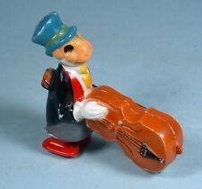 1950-1960s Jiminy Cricket Incline Ramp Walker Toy Marx Walt Disney w/Bass Fiddle
