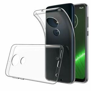 Motorola G7 Power Clear Case Silicone Protective Shockproof