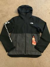 The North Face Millerton Jacket Full Zip Mens Small Black Grey Waterproof