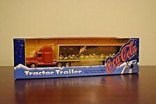 Vintage 1995 ERTL Coca-Cola Tractor Trailer Polar Bear 1/64th Scale Take a L@@K!