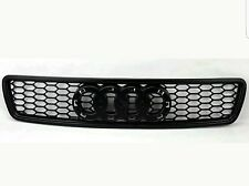 Audi A4 B5 96-01 RS Style Matte Black Mesh Front Hood Bumper Grill