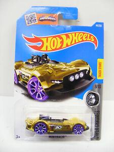 Hot Wheels Super Chromes No9 Monteracer Gold