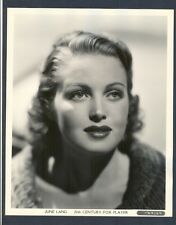 TRAGIC BEAUTY JUNE LANG - SEXY CLOSE-UP IN NEAR MINT COND - SHE MARRIED MOBSTER