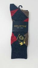 GOLD TOE Men's Argyle Premier Cotton Blend Dress Socks, Multi-color, 10-12