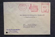DDR Firmen Stempel - Der Kreisrat zu Meissen - Brief /S7