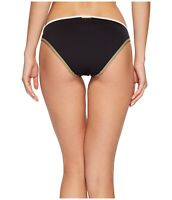Vince Camuto Reversible Swim Bikini Bottoms NWT Size Large Black Blue