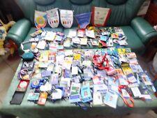 85 cartes pass tennis olivier & chritophe roccus,medailles,fanions
