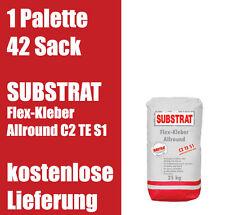 SUBSTRAT Flexkleber Allround C2 TE S1 Flexkleber Fliesenkleber 1Palette 0,67€/kg