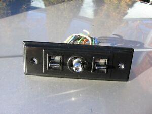 ✔️82-92 CAMARO FIREBIRD POWER SEAT SWITCH BLACK TRIM 8 PIN 20646224 20547499 OEM