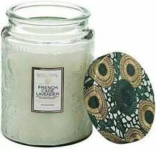 Voluspa FRENCH CADE & LAVENDER Large Jar Candle 16oz