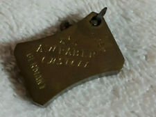 Vintage AW Faber  Castell 4050 Brass Mechanical Pencil Sharpener 1'' X 3/4''