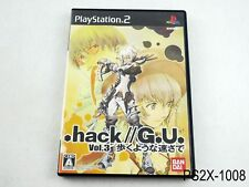 .hack//G.U. Vol 3 Playstation 2 Japanese Import Japan dot hack PS2 US Seller B
