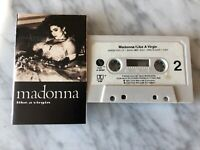 Madonna Like A Virgin CASSETTE Tape 1984 Maverick Sire 9 25157-4 Material Girl!