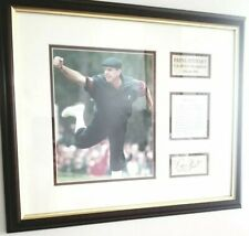 """Payne Stewart US Open Golf Champion 1991 and 1999 """"Testimony Of Faith"""" Plaque"""