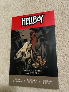 Hellboy Vol. 7 The Troll Witch and Others, MIKE MIGNOLA, RICHARD CORBEN 2007   r