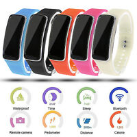 V5S Bluetooth Smart Watch Phone Mate For IOS iPhone Samsung Bracelet Pedometer