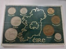1946-1965 IRELAND - COMPLETE IRISH PRE-DECIMAL MINT UNC SET (8)