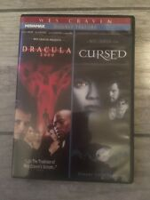 Dracula 2000 Cursed DVD 2011 Wes Craven Double Feature Miramax a-AH