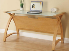 Jual Furnishings Helsinki Light Oak Computer or Laptop Table / Desk PC201-1300mm