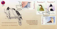 Namibia 2019 FDC Cuckoos African Jacobin Diderick Cuckoo 4v Cover Birds Stamps