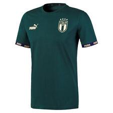 ITALIA FIGC T-SHIRT VERDE CULTURE RINASCIMENTO 2019-20 PUMA ITALIA GREEN T-SHIRT
