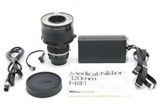 Near MINT Nikon Medical-NIKKOR 120mm f/4 Lens with DC Unit LD-2 from Japan