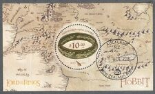 New Zealand-Lord of the Rings-Hobbit min sheet fu-cto 2016(Oct)Tolkien