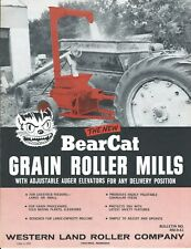 Farm Equipment Brochure - Western Bear Cat - Grain Roller Mill - c1961 (F6694)
