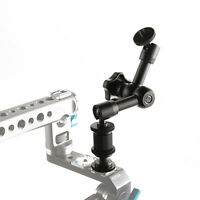 "7"" Friction Articulating Magic Arm Adjustable for DSLR LCD Monitor light Camera"